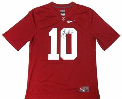 8c8473752 A.J. McCarron Autographed Signed Alabama Crimson Tide Nike NCAA Jersey