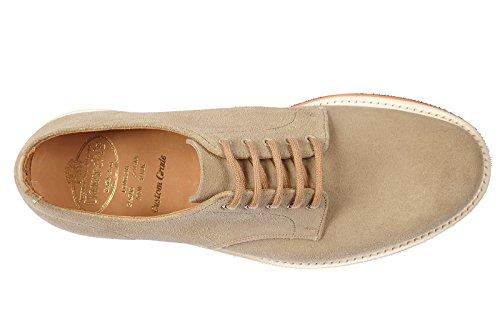 Church's chaussures à lacets classiques homme en daim derby leyton 2 beige