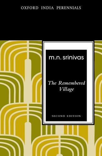 The Remembered Village (Oxford India Perennials Series)