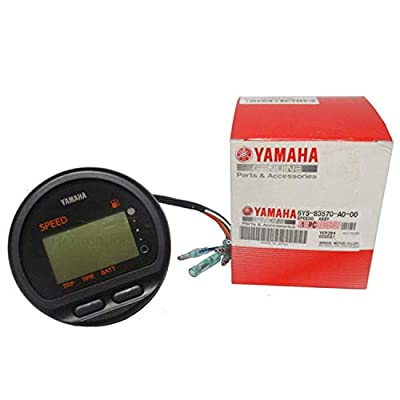 YAMAHA SPEEDOMETER ASSEMBLY OUTBOARD MOTOR 6Y5-83570-A0-00: Automotive