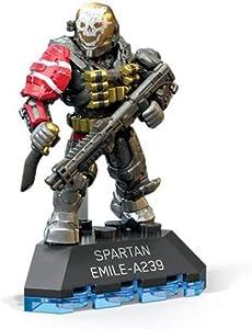 Mega Construx Halo Heroes Spartan Emile Building Set
