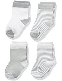 Baby Basic Crew Socks 4-Pack