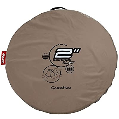 Quechua Waterproof Pop Up Camping Tent 2 Seconds XL AIR III, 3 Man