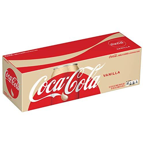 - Coca-Cola Vanilla, 12 fl oz, 12 Pack