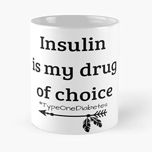 Insulin Is My Drug Of Choice T1d Mama Bear Diabetes Moms - Best Gift Ceramic Coffee Mugs