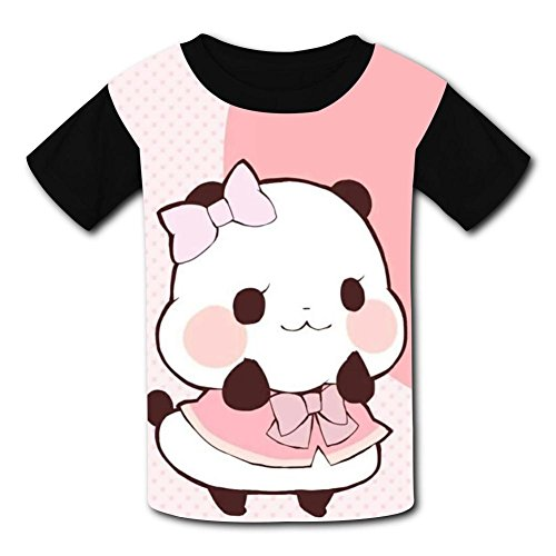 Most Popular Love Panda Kids Tee T-Shirt Short Sleeve Costume XL