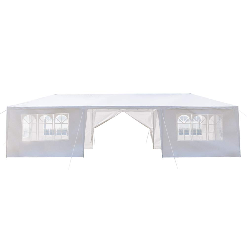 Ooscy Party Tent,Pop up Canopy Party Wedding Gazebo Tent Shelter with Removable Side Walls White by Ooscy (Image #3)