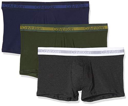 Calvin Klein Herren Trunk 3PK Badehose 3er pack