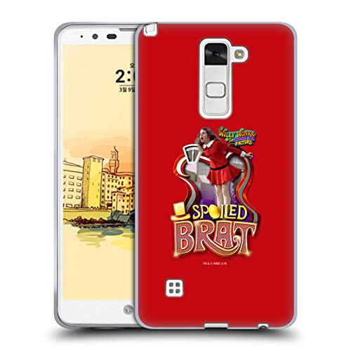 Official Willy Wonka and The Chocolate Factory Veruca Salt Graphics Soft Gel Case Compatible for LG Stylus 2