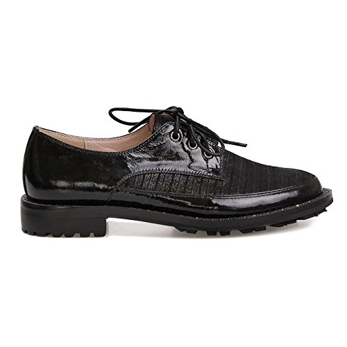 Chaussures Lacets Ville wetkiss à pour SA001 de Noir Femme qX11t5