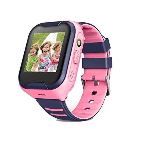 Clearance!Smart Watch for Kids Men Women,A36E Children Smart Watch 4G Wifi GPS Tracker Watch Phone SOS Alarm Clock Camera - Best Gift for Kids (Pink)