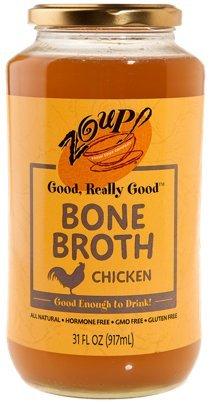 Chicken Bone Broth by Zoup! - All Natural, Gluten Free, Non GMO, Fat Free Chicken Bone (Best Epic Canned Beefs)