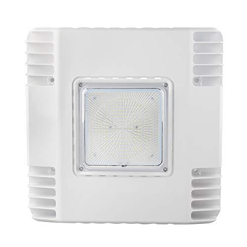 (LED Flying Direct 150W LED Canopy Ceiling Light - Ultra Efficient Recessed Surface Mount Gas Station Light - High Bay Carport or Parking Garage Lamp 19500lm 5700k UL DLC Approved (150w 5700K-100-277V))