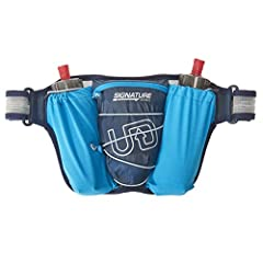 As an alternative to a running vest, the Ultimate Direction Signature Series Ultra Belt 4.0 holds two Body Bottle 500's (included) for long on the trail. Features 5 total pockets; main pocket, key pocket, and 2 bottle pockets. The Ultra Belt ...