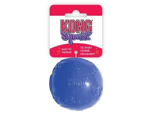 KONG Squeezz Ball Large Dog Play Toy x 3 Pack