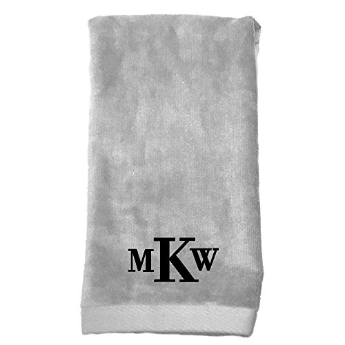 Towel Embroidered Hemmed Hand - Monogrammed Personalized Name Hand Towels, Size 16