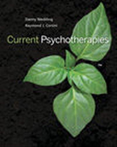 Current Psychotherapies (MindTap Course List)