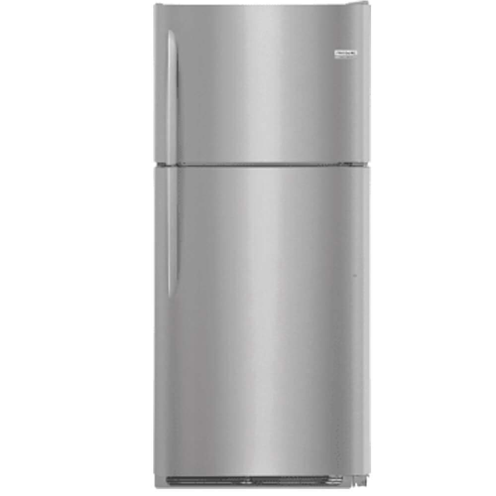Frigidaire FGTR2037TF 30 Inch Freestanding Top Freezer Refrigerator with 20.4 cu. ft. Total Capacity, in Stainless Steel