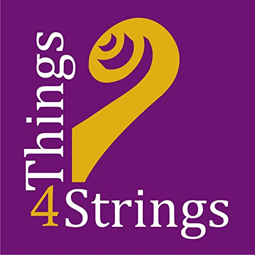Sparkly Pink 2-Piece Set: Things 4 Strings Bow Hold Buddies, Award-winning Violin / Viola Teaching Aid