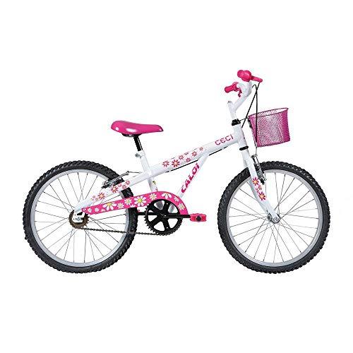 Bicicleta Infantil Caloi Ceci Aro 20 - Branco