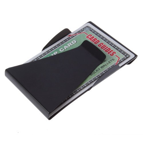 S shine Double Stainless Wallet Folder