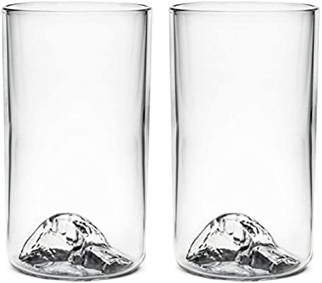 55be0ecaf70d The California Pint Glass - 2 Pack - Featuring Half Dome