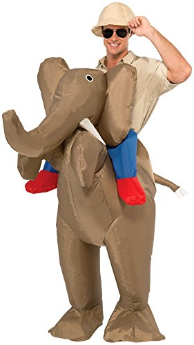Inflatable Elephant Costumes For Adults (Forum Novelties Men's Ride An Elephant Inflatable Costume, Multi, One Size)