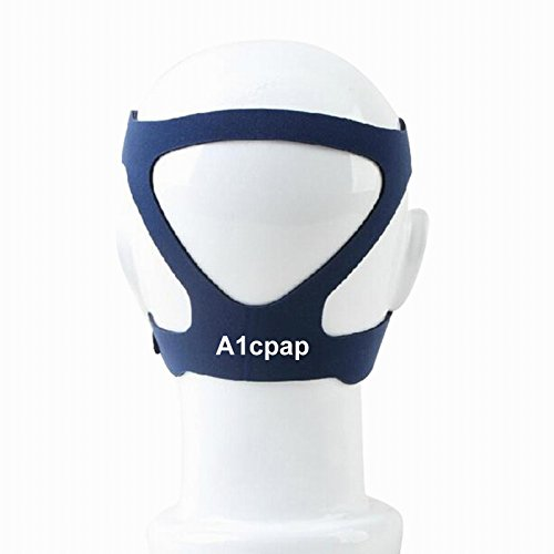 431 Full Face Mask (Universal Headgear Replacement CPAP strap, fits most Full Face or Nasal masks with 4 point straps incl - Resmed - Respironics – Fisher & Paykel)