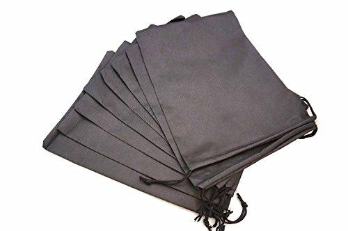 erproof Nylon Travel Shoe Tote Bags with Drawstring ()