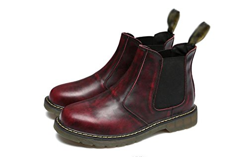 Men's leather ankle boots winter leisure 40