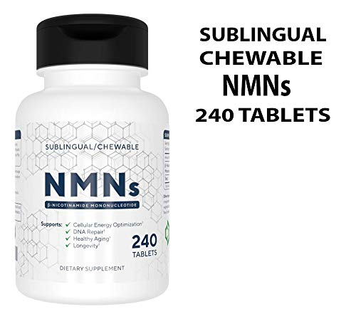 Alivebynature Sublingual NMN 125mg x 240 Tablets Nicotinamide Mononucleotide