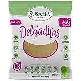 SUSALIA Tortilla Delgaditas 625 gr (Caja con 6 piezas) | Paquete de Snacks | Botana Artesanal Saludable |