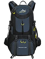 TOPKing Hiking Backpack Camping Daypack Outdoor Rucksack 50L Waterproof Travel Racksack Nylon Polyester Multifunction...