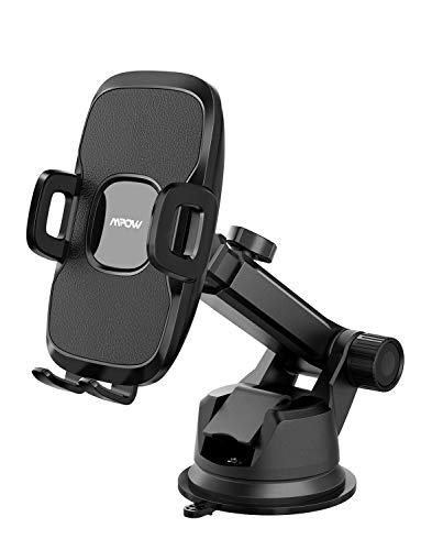 - Mpow Car Mount Holder, Universal Dashboard Car Phone Mount, Windshield Car Phone Holder, Washable Gel Pad Compatible iPhone XR/XS Max/X/8, Galaxy S10/S9/S8/S7, Google, Huawei, One Plus, Moto, and More