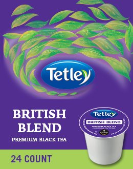 Tetley British Blend Premium Black Tea 96 K Cups
