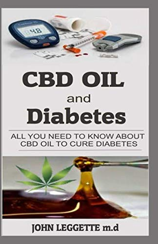 41sn0iOH9sL - CBD oil and Diabetes: All you need to know about cbd oil to cure diabetes