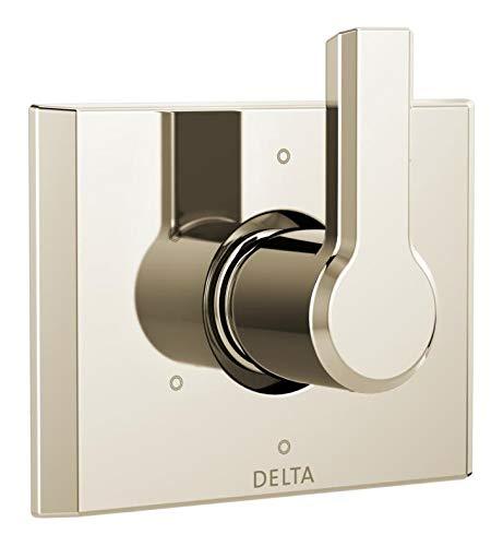 Delta Faucet T11999-PN Pivotal 6-Setting 3-Port Diverter Trim, Polished Nickel,