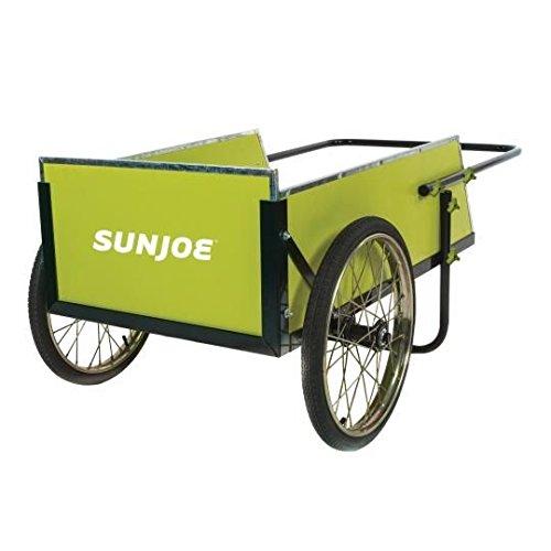 (Sun Joe SJGC7 7 Cubic Foot Heavy Duty Garden + Utility Cart)