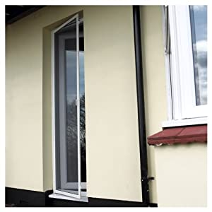 Entry Door Fly Screen White Amazon Co Uk Kitchen Amp Home