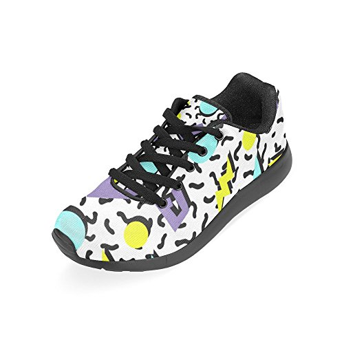 Running Womens Sneaker Go Jogging Walking Sports Athletic Easy Lightweight Shoes Comfort InterestPrint fpqEHdwp