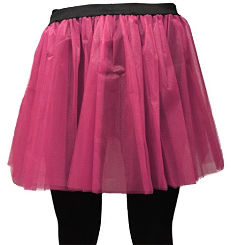 Uv Long Flo 35 Vif A Jupe Pour Rose nbsp;cm Neon express 6 De Tutu Enterrement ZqqBF