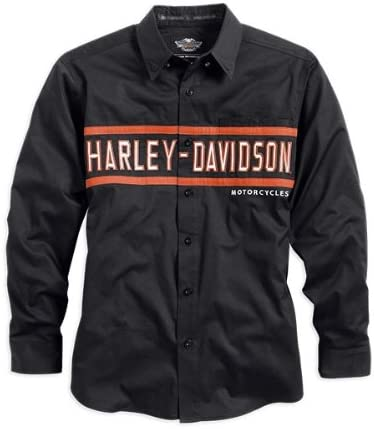 Harley-Davidson - Camisa casual - para hombre negro XX-Large: Amazon.es: Ropa y accesorios