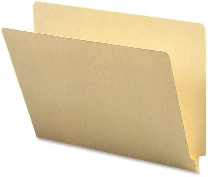 Manila Letter Size 100 per Box Straight-Cut Tab 24100 Smead End Tab File Folder