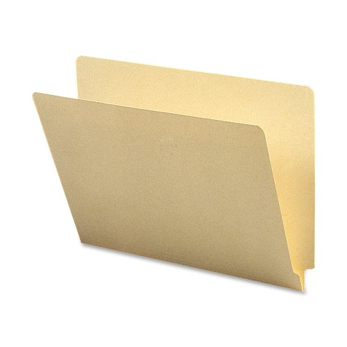 Smead End Tab File Folder, Straight-Cut Tab, Letter Size, Manila, 100 per Box (24100)