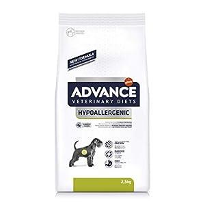 Advance 591219 Veterinary Diets Hypoallergenic – Pienso hipoalergénico para Perros con intolerancias alimentarias – 2.5…