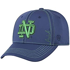 detailed look 805f7 fbaf7 Top of the World Notre Dame Fighting Irish Official NCAA One Fit Learning  Curve Hat Cap 450841