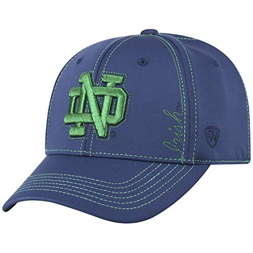 Top of the World Notre Dame Fighting Irish Official NCAA One Fit Learning Curve Hat Cap 450841 - Notre Dame Fan Gear