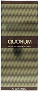 Quorum By Puig For Men. Eau De Toilette Spray 3.4 Ounces
