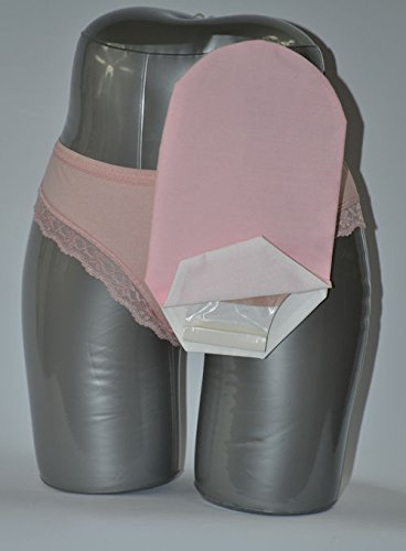 C & S Ostomy Pouch Covers Cx582771 Daily Wear Pouch Cover, Open End, Fits Flange Opening Of 3/4'' To 2-1/4'', Overall Length 10'', Pink,C & S Ostomy Pouch Covers - Each 1 by C & S OSTOMY POUCH COVERS
