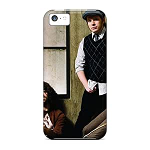 Shock-Absorbing Cell-phone Hard Cover For Apple Iphone 5c With Custom Vivid Celebrities Fall Out Boy Image WandaDicks